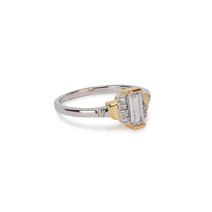 V Jewellery V By Laura Vann Sabrina Sterling Silver Ring