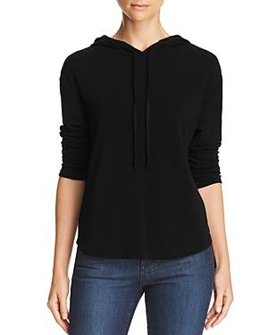 Michelle By Comune Glenoma Hooded Sweatshirt In Black