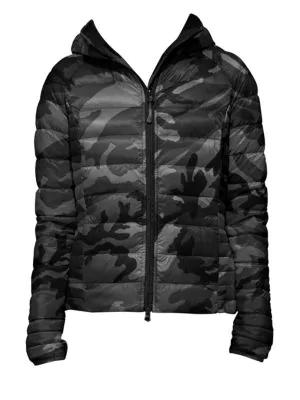 Canada Goose Brookvale Camo-print Jacket In Black
