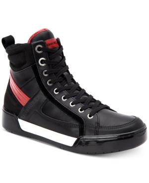 Calvin Klein Men's Nicola Action Sneakers Men's Shoes In Black