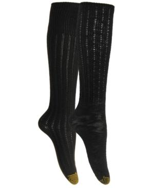 Gold Toe Women's 2-pk. Boot Socks In Black