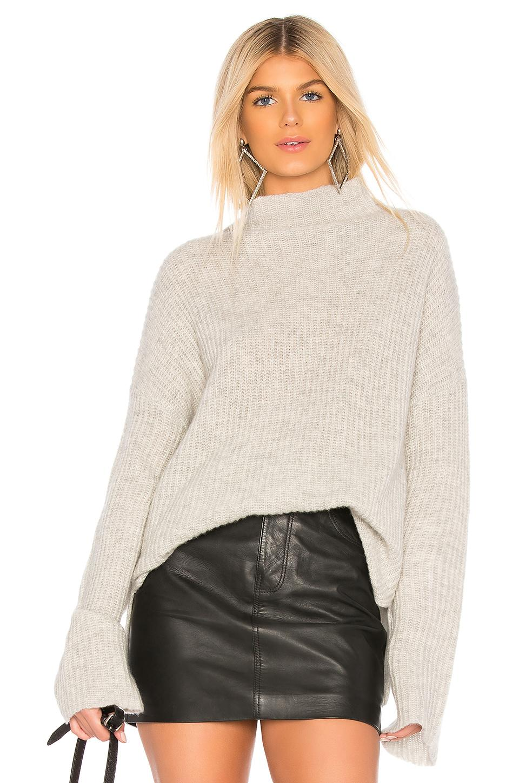 360cashmere Doris Sweater In Light Gray