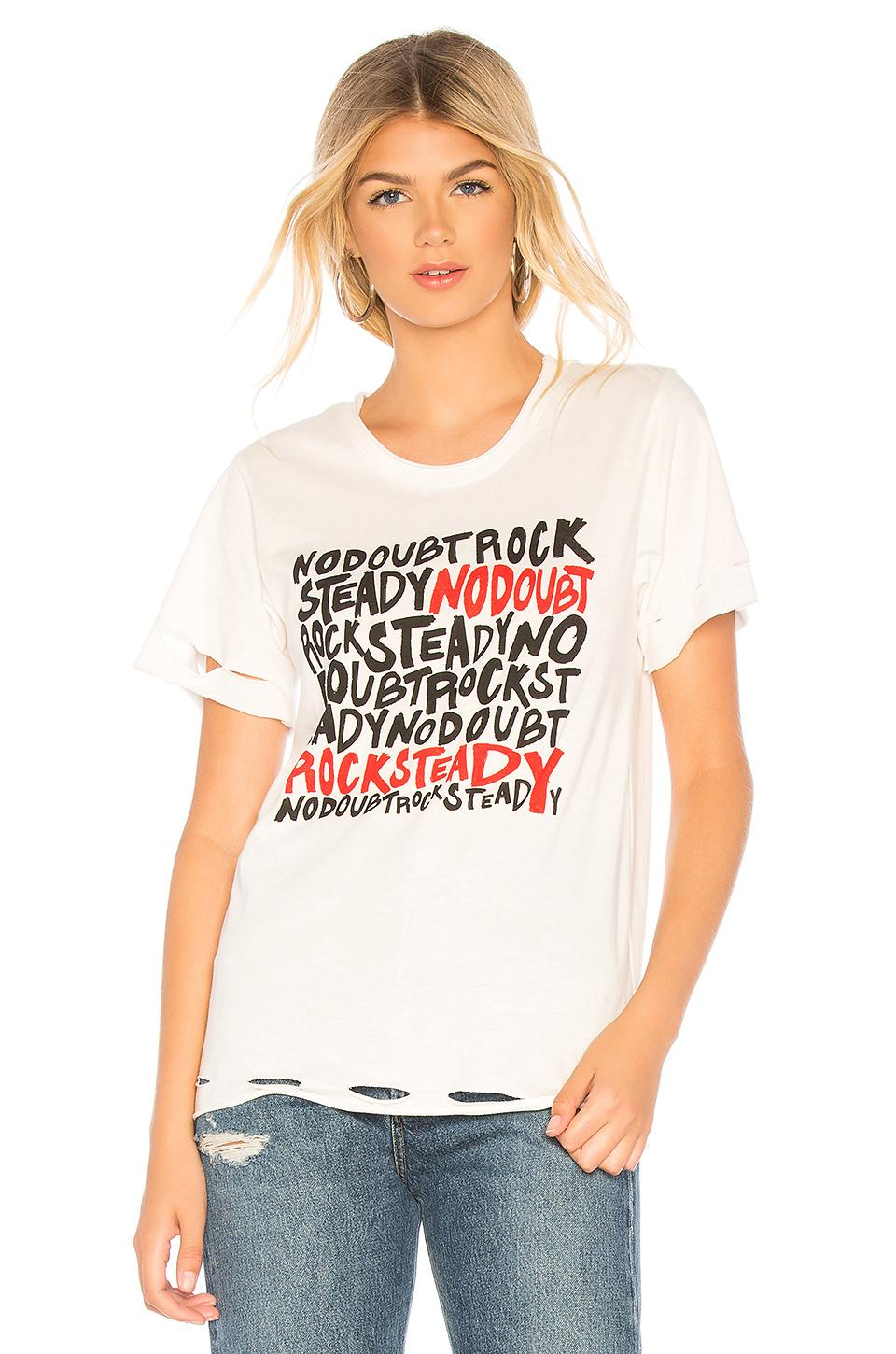 Daydreamer No Doubt Rock Steady Rebel Tee In Vintage White