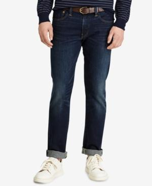 Polo Ralph Lauren Men's Big & Tall Hampton Relaxed Straight Jeans In Navy