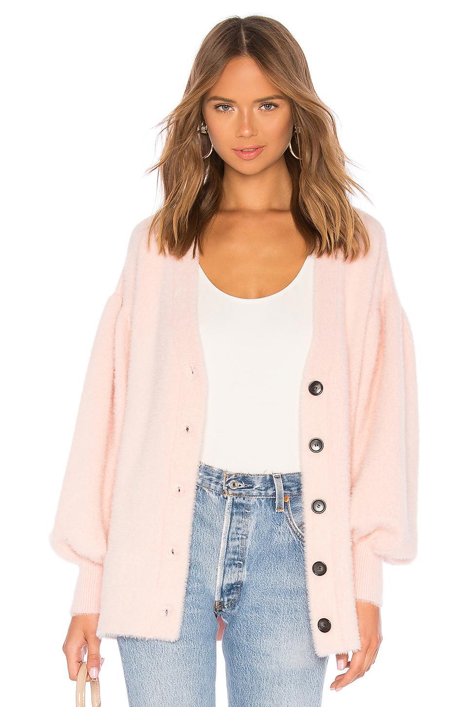 Lpa Mercy Cardigan In Pink