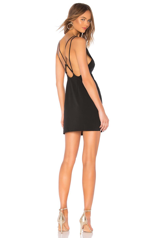 Lovers & Friends Marcelo Mini Dress In Black