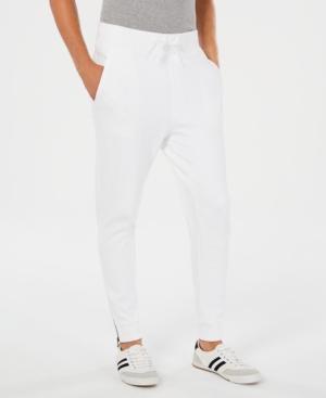 Hugo Boss Hugo Men's Relaxed-fit Jogger Pants In White