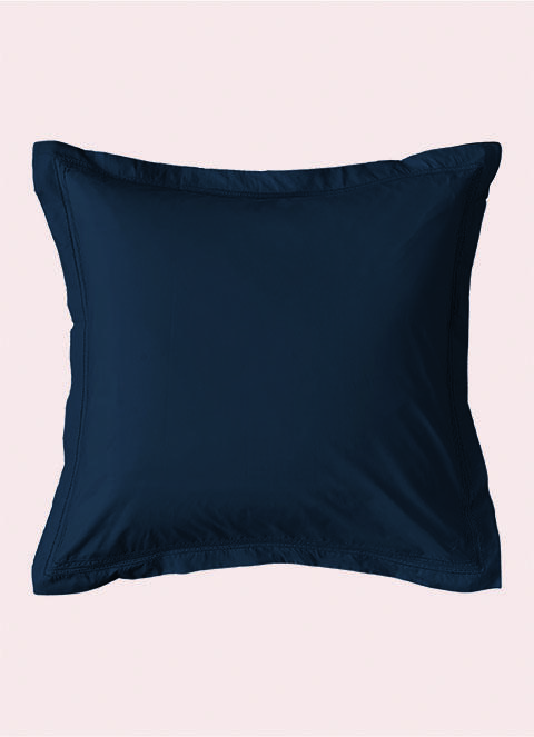 Hackett Classic Broadcloth Square Pillowcase 65x65 In Dress Blues