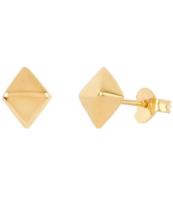 Dinny Hall Gold Vermeil Mini Almaz Stud Earrings