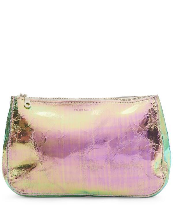 Tracey Tanner Slick Fatty Large Foil Pouch In Foil Slick
