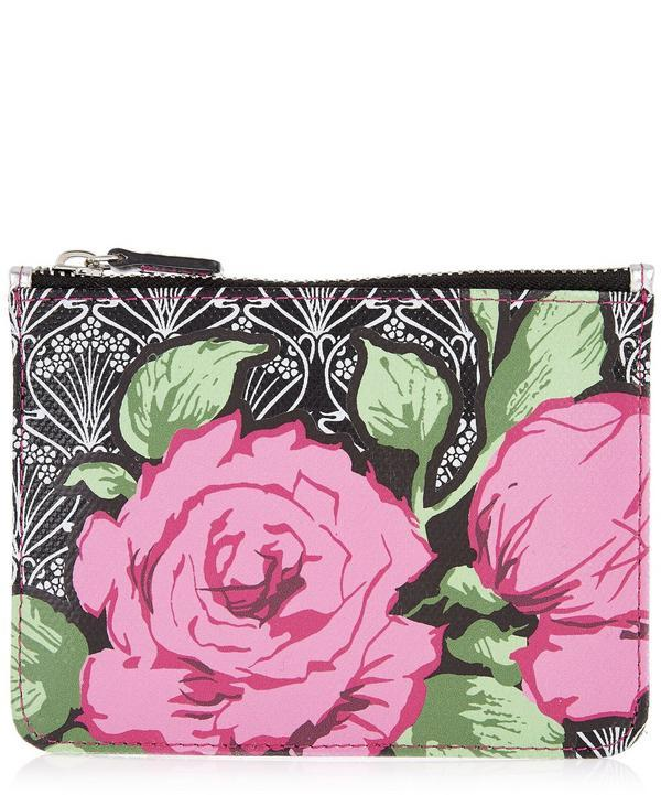 Liberty London Richard Quinn Carline Iphis Coin Pouch In Pink