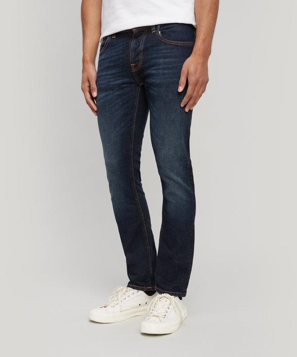 Nudie Jeans Grim Tim Jeans In Authentic Deep