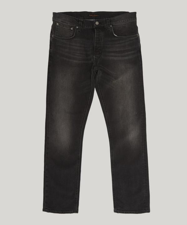 Nudie Jeans Grim Tim Jeans In Grey Authentic