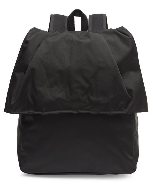 Eastpak Raf Female Flap Front Backpack In Black