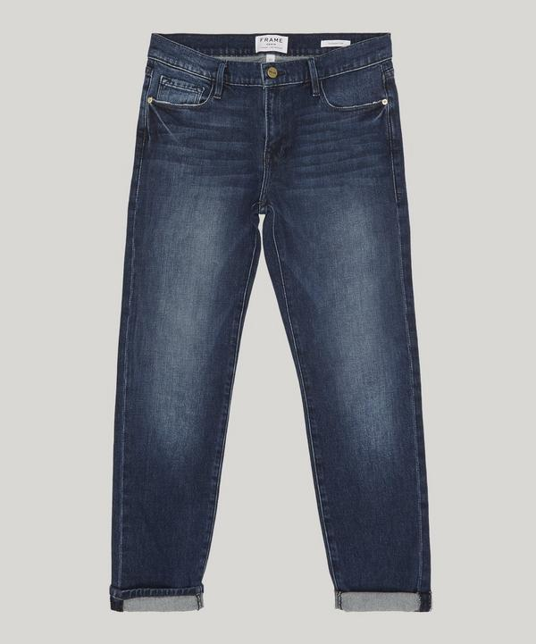 Frame Le Garcon Cropped Jeans In Carver