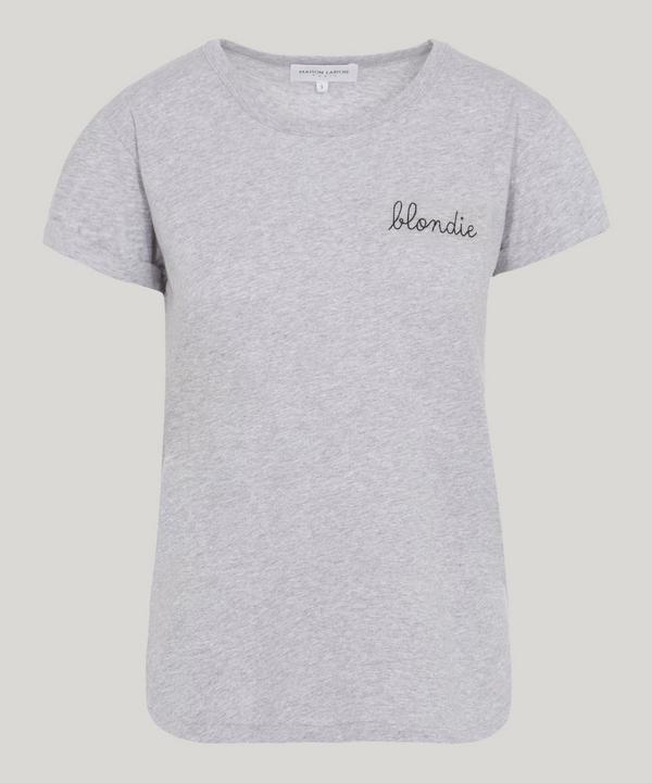 Maison Labiche Blondie T-shirt In Heather Grey