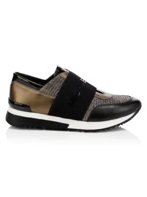 Michael Michael Kors Mk Sneakers In Black