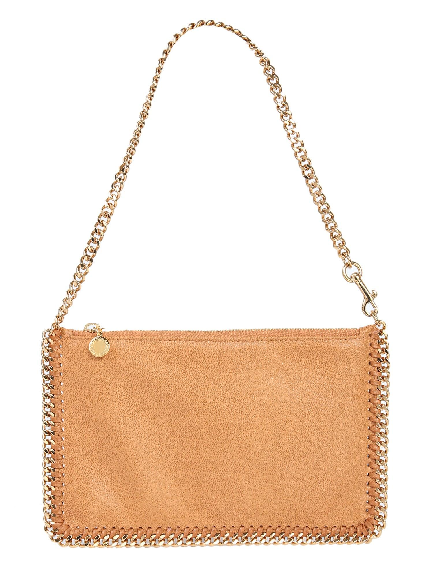 Stella Mccartney Falabella Purse In Marrone