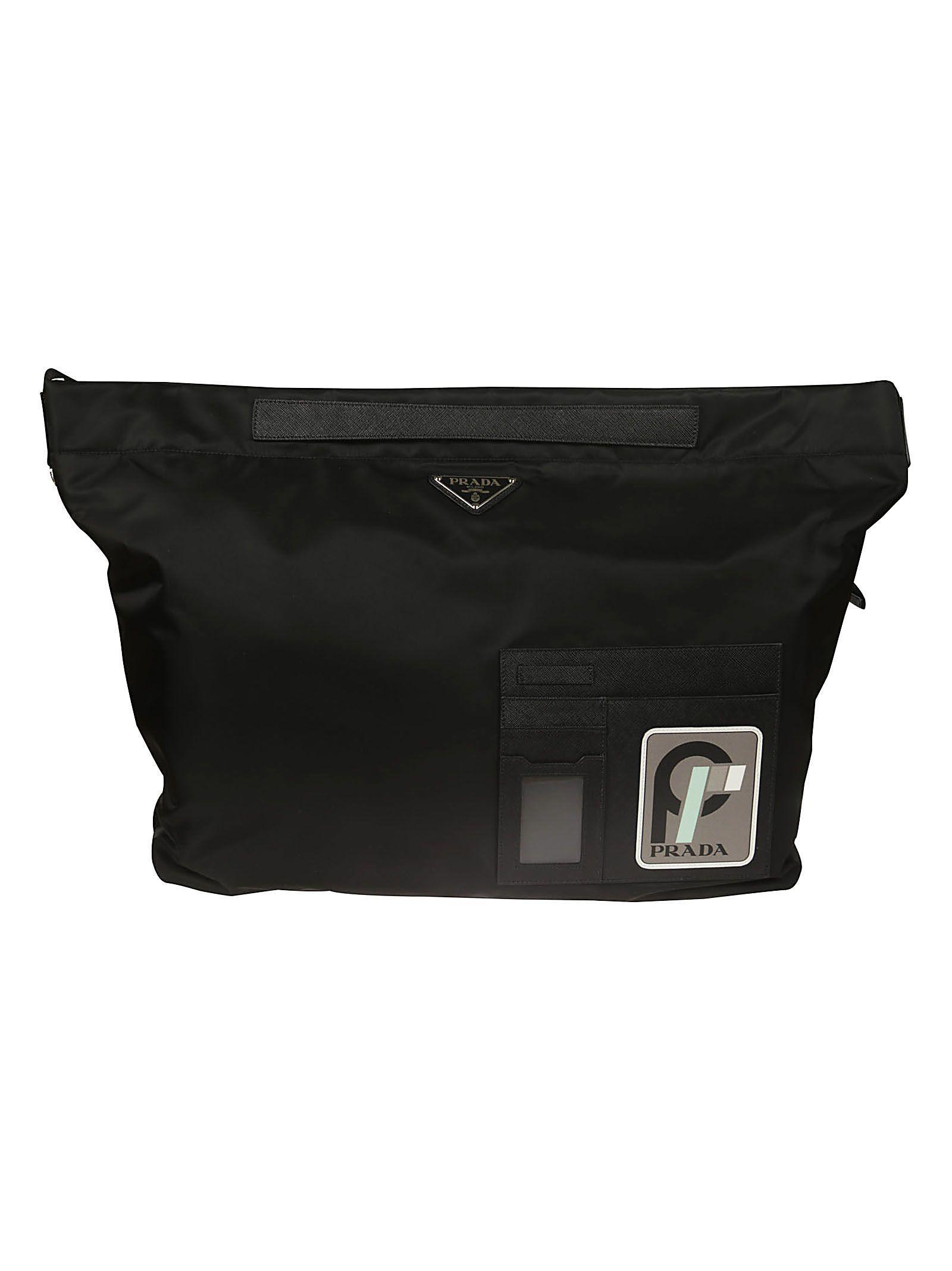Prada Technical Fabric Shoulder Bag