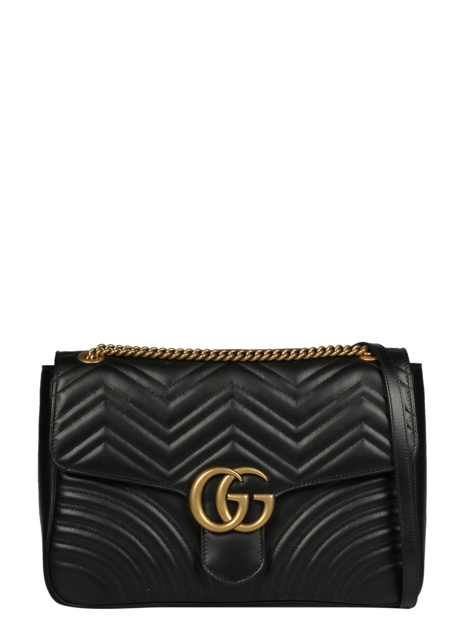 e39de52af85 Gucci Gg Marmont Large Shoulder Bag In 1000