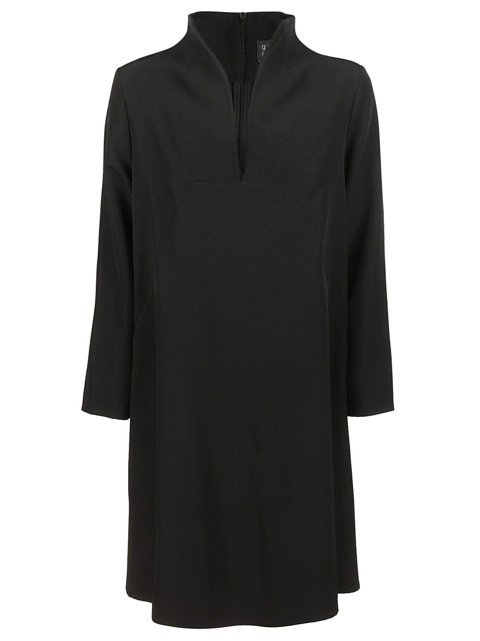 Gianluca Capannolo Longsleeve Dress In Black