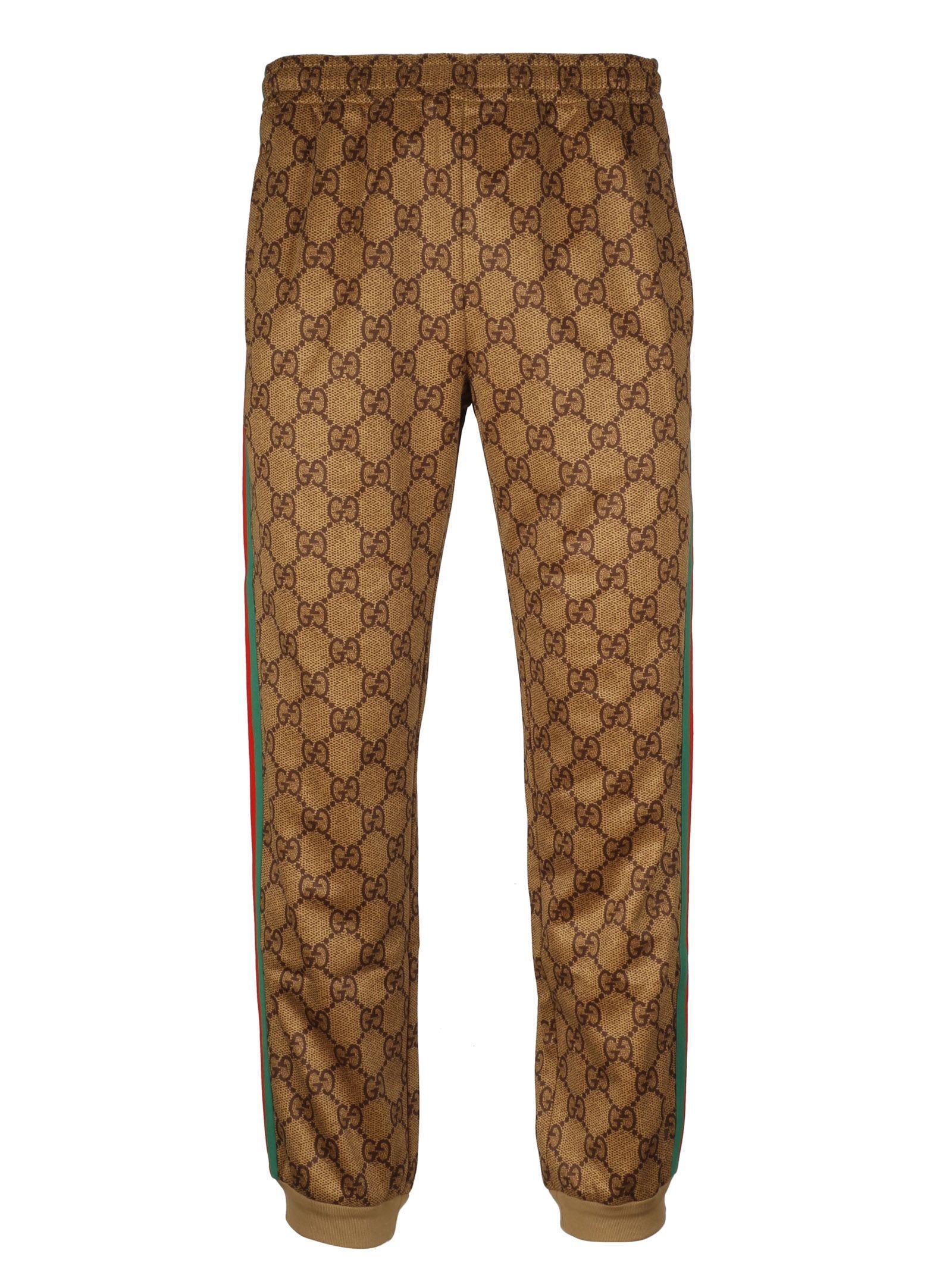Gucci Gg Supreme Track Pants In 2035