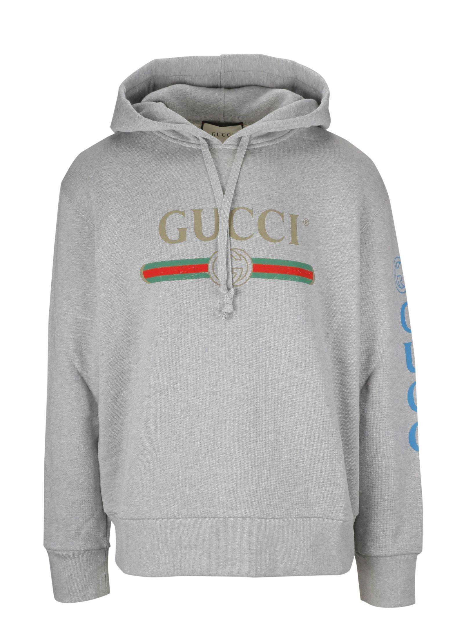 Gucci Logo Sweatshirt In 1111