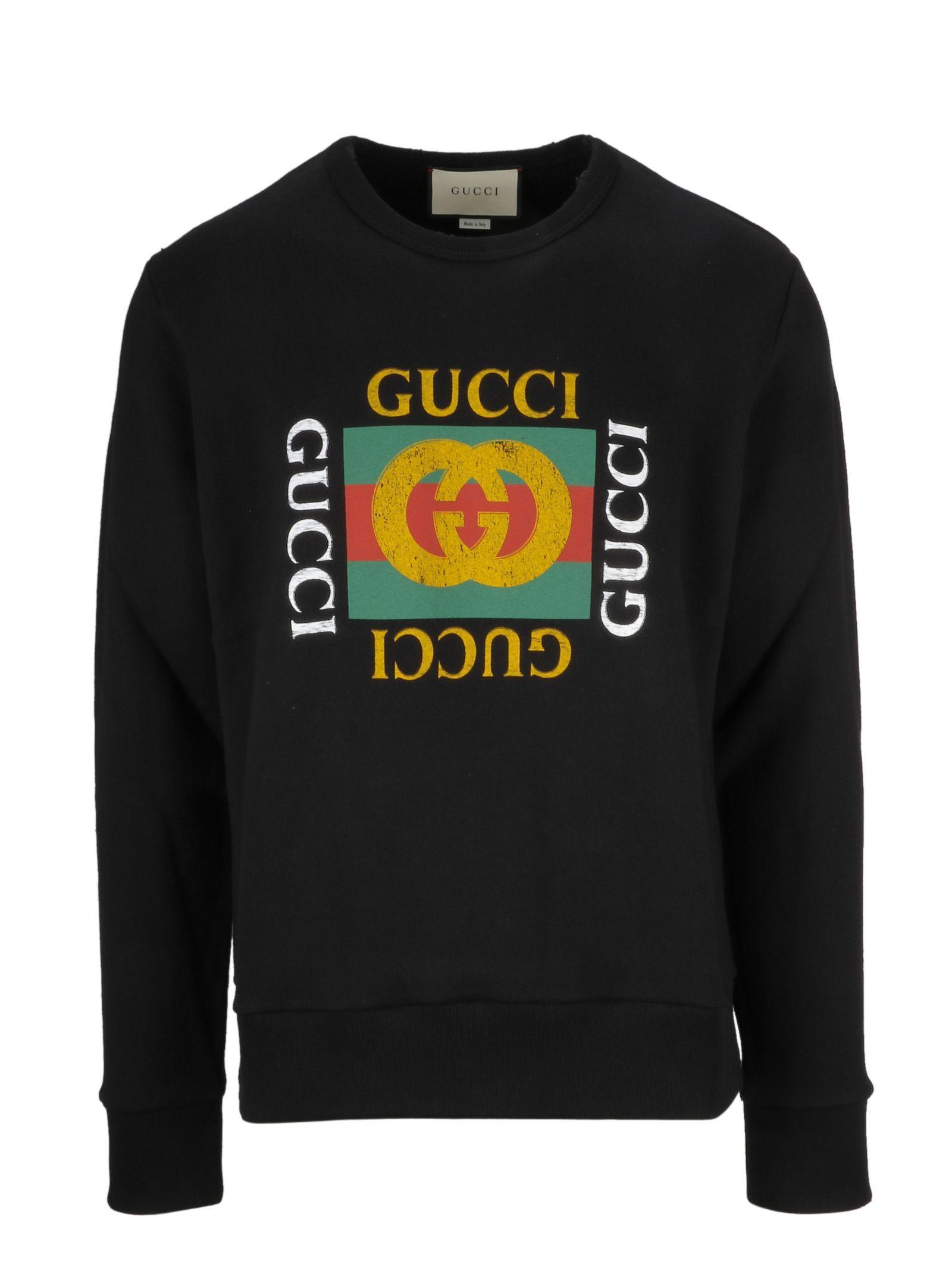 Gucci Logo Sweatshirt In 1015