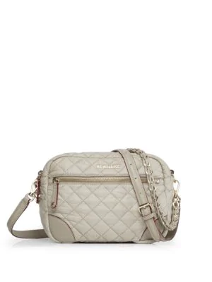 Mz Wallace Small Crosby Crossbody In Atmosphere