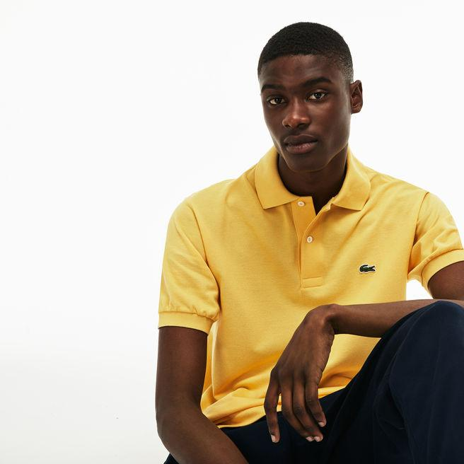 Lacoste Men's L.12.12 Polo In Yellow