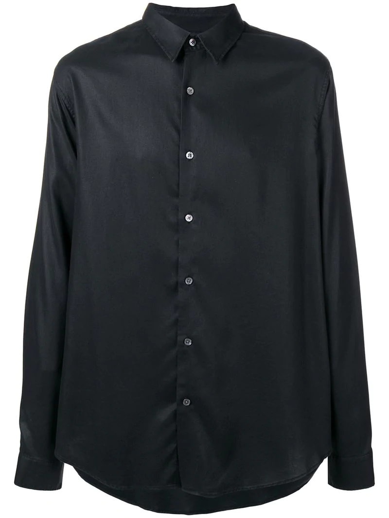 Hope Loose Fitted Shirt - Black