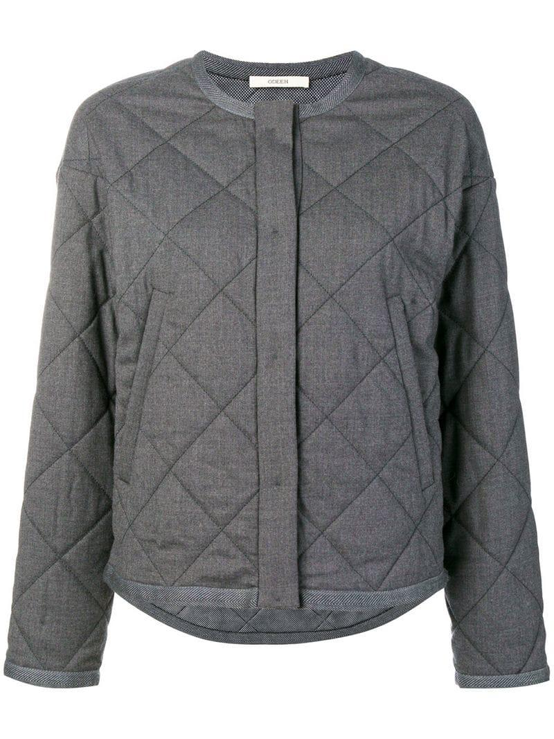 Odeeh Loose Fitted Jacket - Grey