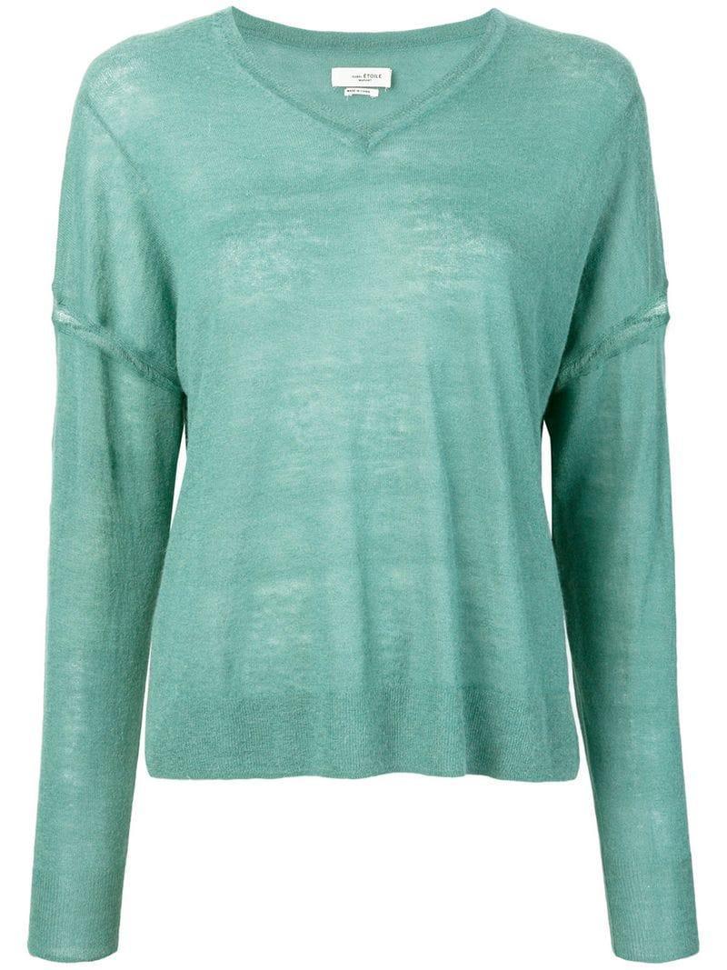 Etoile Isabel Marant Isabel Marant Étoile Loose Fitted Sweater - Blue