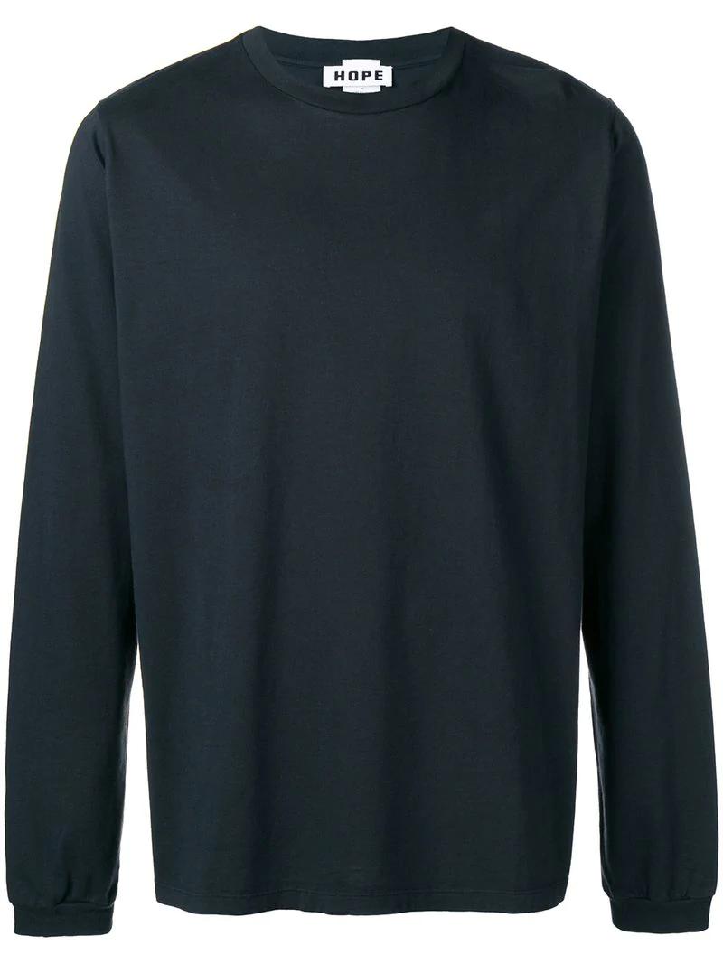 Hope Loose Fitted Sweatshirt - Black