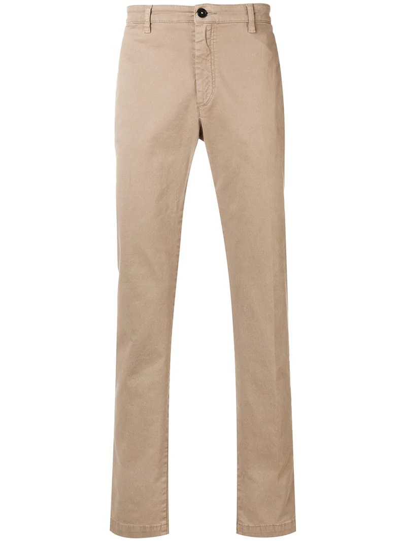 Massimo Alba Slim-fitted Jeans - Neutrals