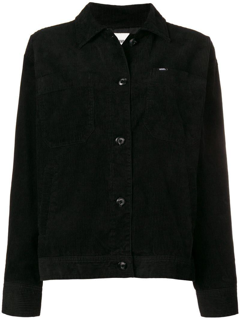 Vans Corduroy Jacket - Black