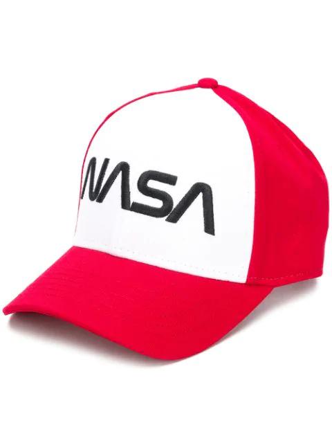 Alpha Industries Nasa Cap - Red