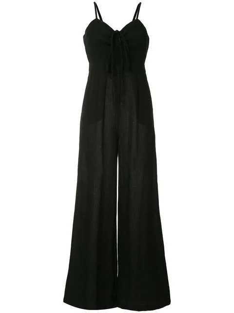 Suboo Cut-out Detail Jumpsuit - Black