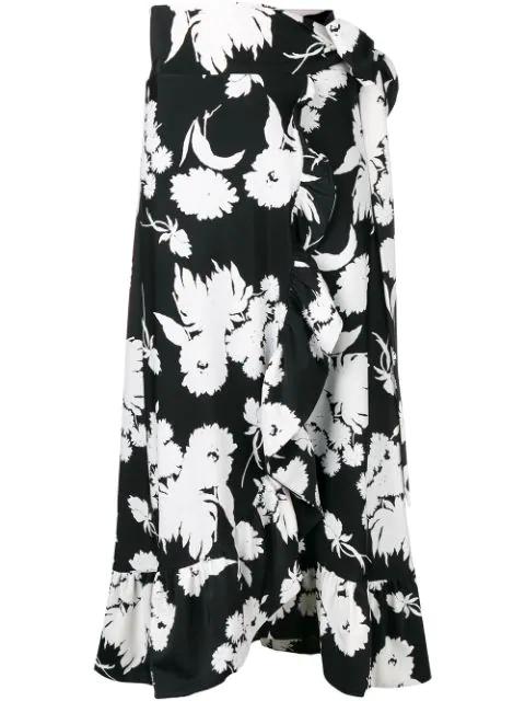 Ganni Alameda Scuba Skirt - Black