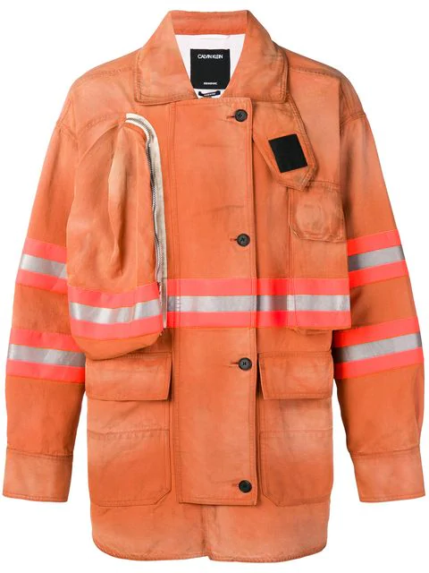 Calvin Klein 205w39nyc Firefighter Coat - Yellow