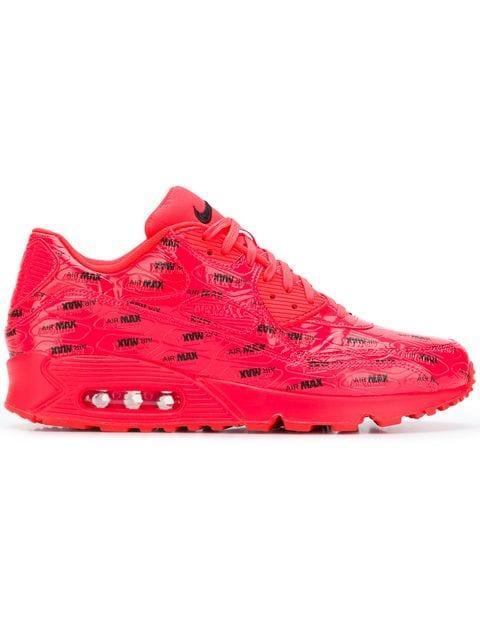 detailed look 2cc91 07c83 Nike Air Max 90 Premium Sneakers - Pink   Purple