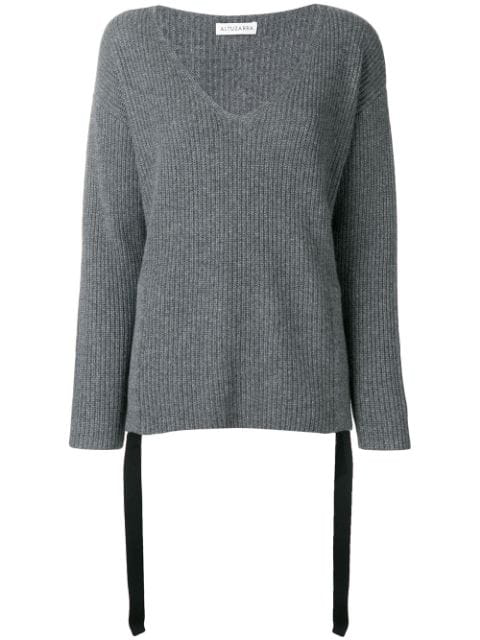 Altuzarra Basic Cashmere Jumper - Grey