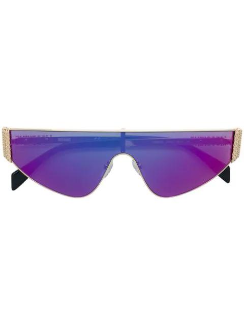 Moschino Eyewear Mos022/s Sunglasses In Metallic
