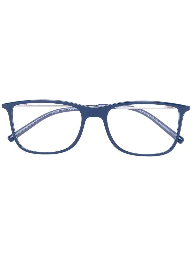 b9a02671f4 Dolce   Gabbana Eyewear Square-Frame Glasses - Blue