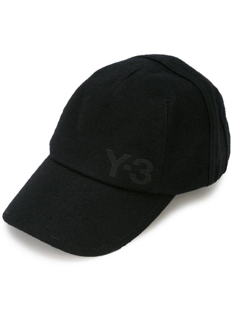 640180c8624f7 Y-3 Adidas X Yohji Yamamoto Logo Cap - Black