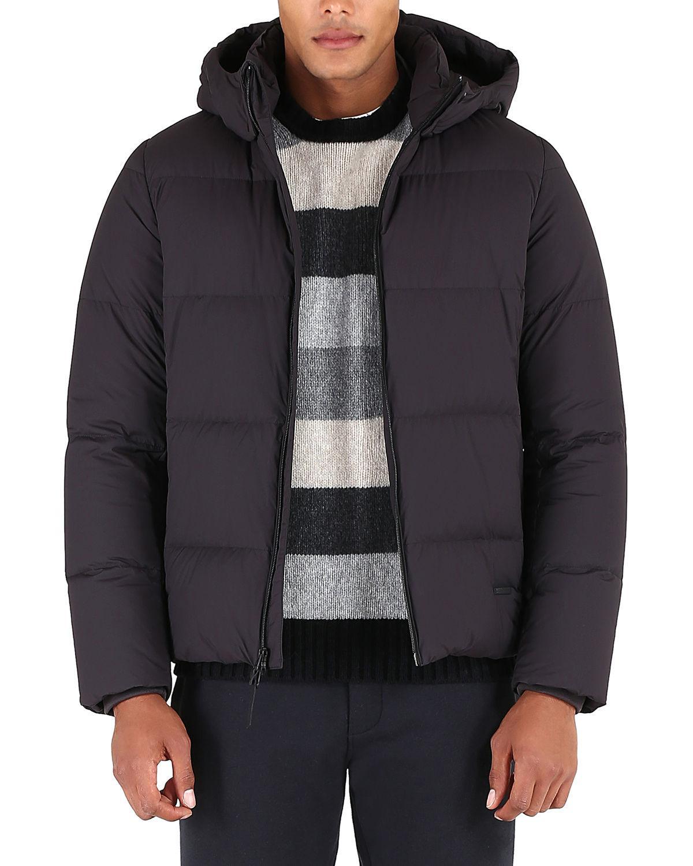4059aea79a4b Woolrich Men s Comfort Puffer Jacket In Phantom
