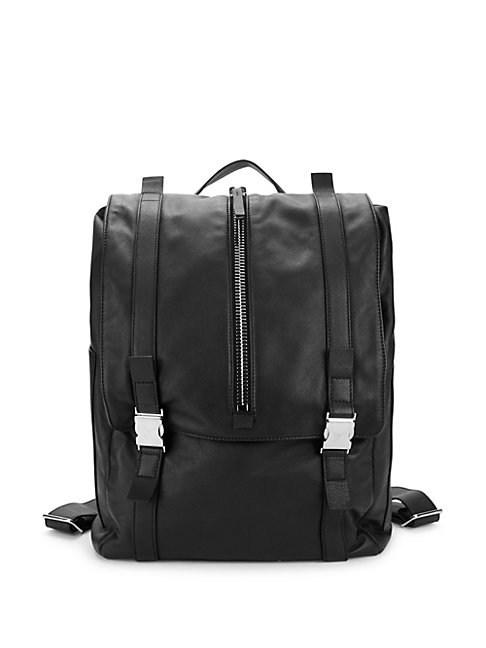 bb64b0baa897a Giuseppe Zanotti Classic Leather Backpack In Stone | ModeSens
