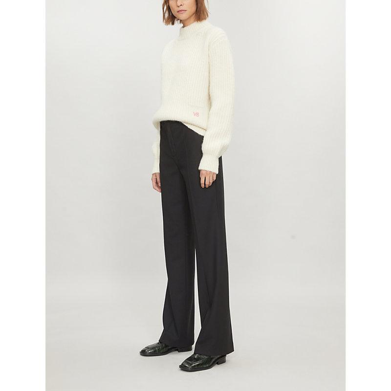 e0dcc811b27 Joseph New Tropez Comfort Wool Trousers In Black