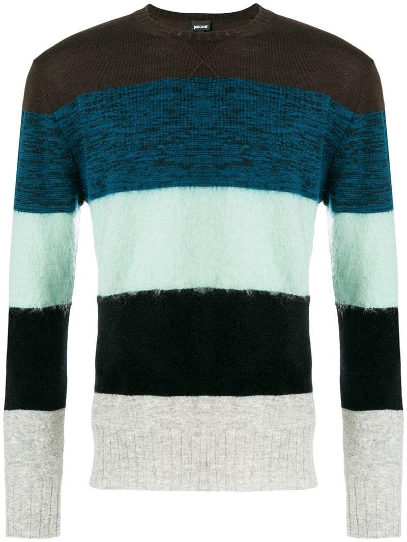 Just Cavalli Striped Sweater - Multicolour