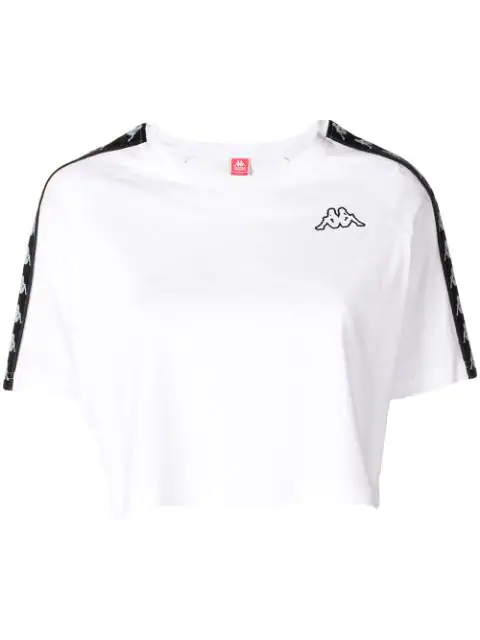 a8f88113b9 Crop Athletic Tee in White